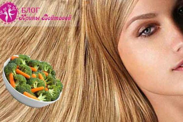 10 продуктов для здоровых волос