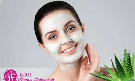 Как дома сделать полезные маски для лица с соком алоэ