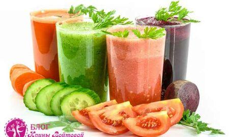 Полезные свойства соков для красоты и здоровья