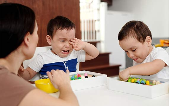 стресс-у-детей